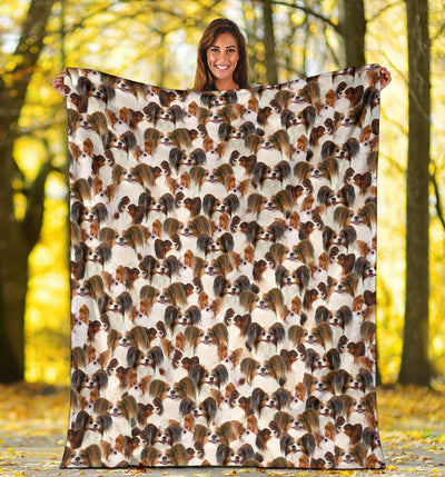 Papillon 1 Full Face Blanket