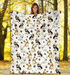 Yorkshire Terrier Paw Blanket