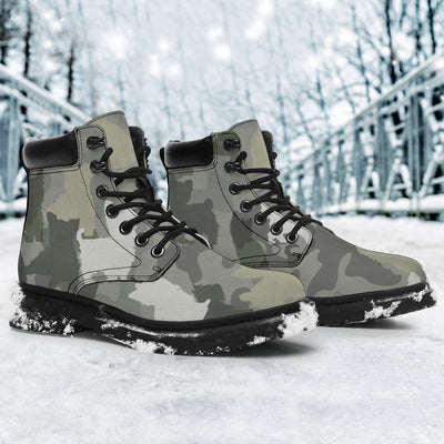 Yorkshire Terrier Camo All-Season Boots