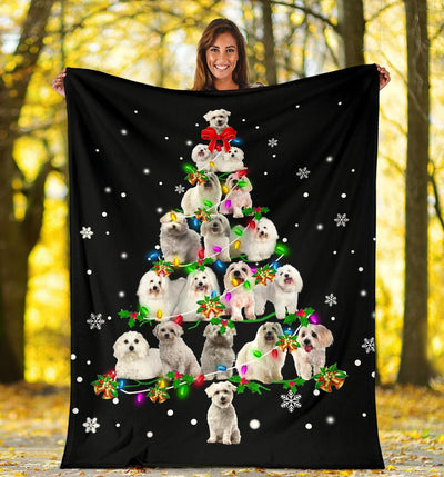 Coton de Tulear 1 Christmas Tree