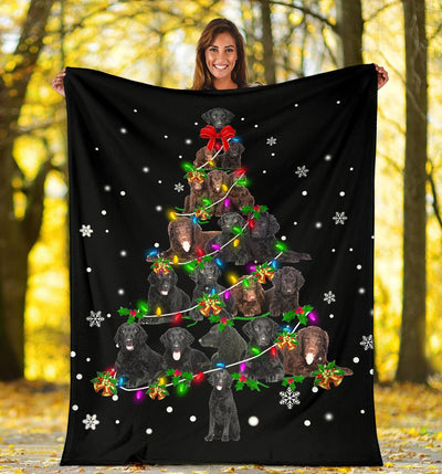 Curly Coated Retriever Christmas Tree