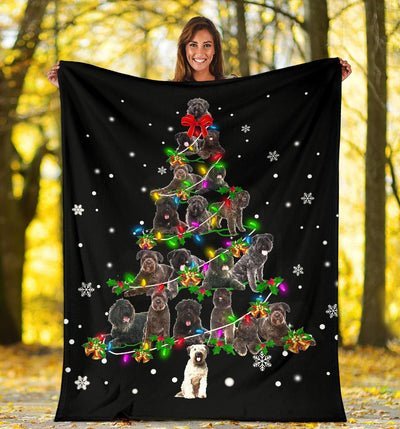 Bouvier des Flandres Christmas Tree