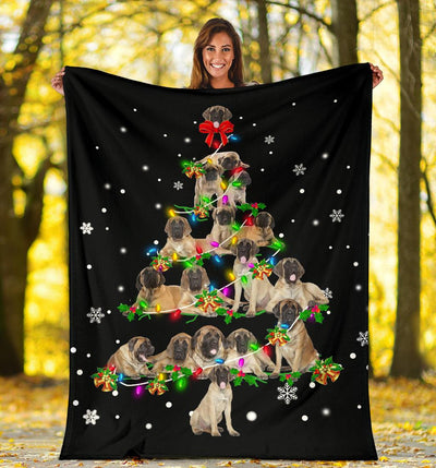 English Mastiff Christmas Tree
