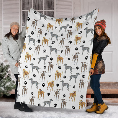 Greyhound Paw Blanket