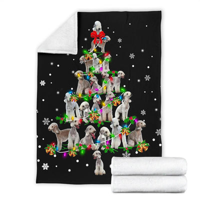 Bedlington Terrier Christmas Tree