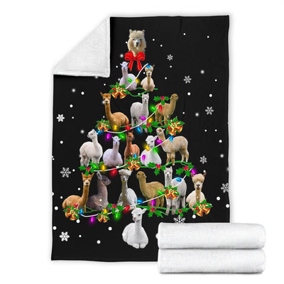 Alpaca Christmas Tree