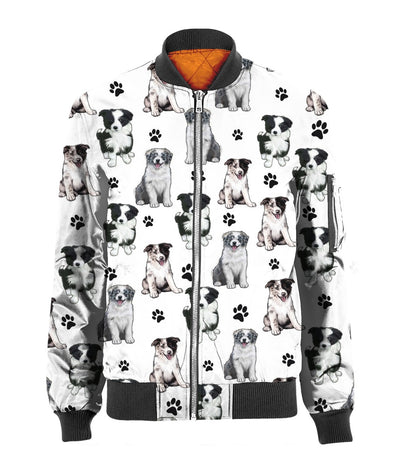 Border Collie Paw Bomber 3D