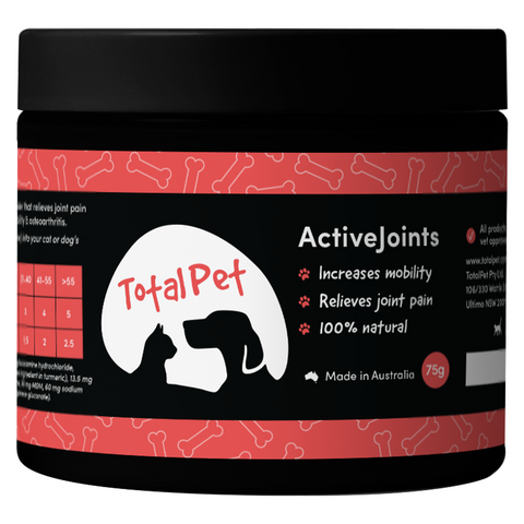 Active Joints for Dogs and Cats - Total Animal Health