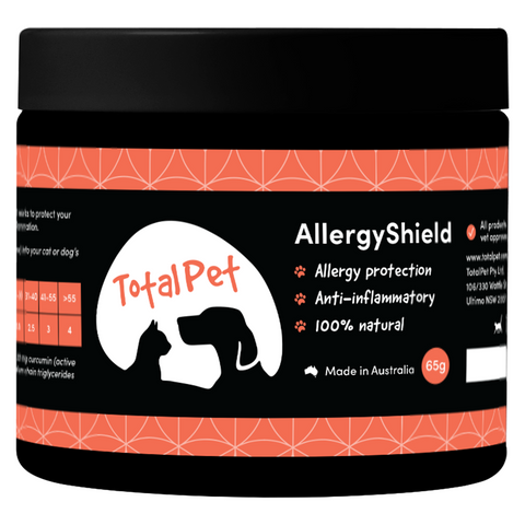 Allergy Shield for Dogs and Cats - Total Animal Health