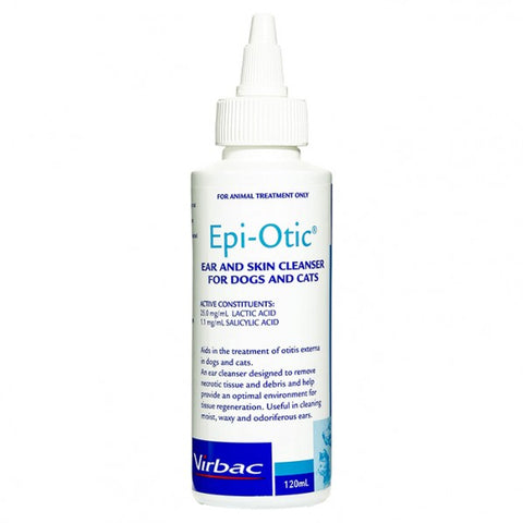 Epi Otic Skin and Ear Cleaner - 120ml