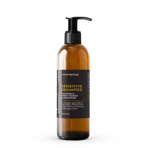 Sensitive Dog Shampoo - Chamomile, Sweet Orange & Rosewood - Essential Dog