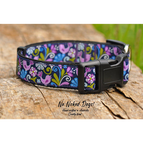 Birds Of Paradise Collar - For Dogs - Nuts About Mutts
