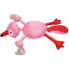 Fannie Flamingo Rope Toy