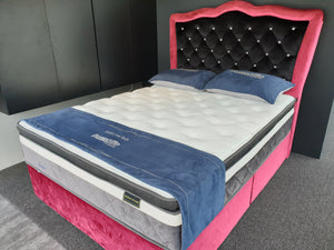 Dunlopillo Angeline TalaSilver Latex HiLo Individual Pocketed Spring Mattress - The Mattress Boutique