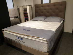 Four Star Grand Sovereign CoolMax Natural Latex 3 Zoned Individual Pocketed Spring Mattress - The Mattress Boutique