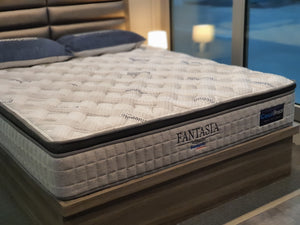 DUNLOPILLO FANTASIA COOL BREEZE TALASILVER LATEX - The Mattress Boutique