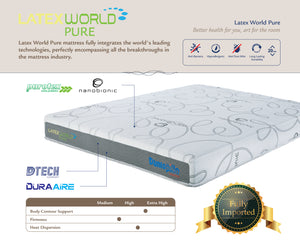 Dunlopillo Latex World Pure - The Mattress Boutique