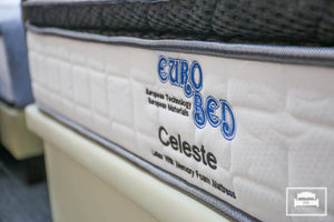 Eurobed Celeste Latex Memory Foam Mattress - The Mattress Boutique