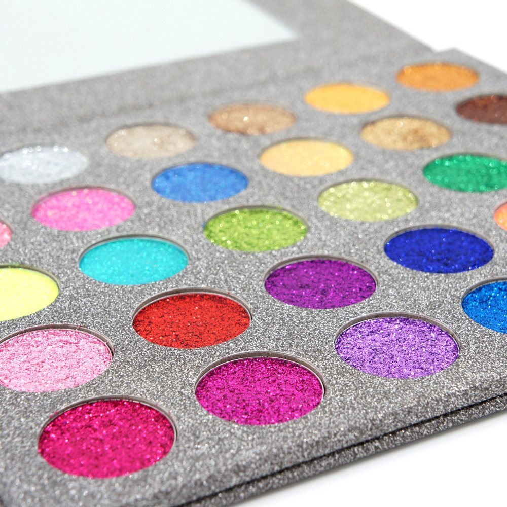 MISKOS - 30 Color Glitter Powder Eyeshadow