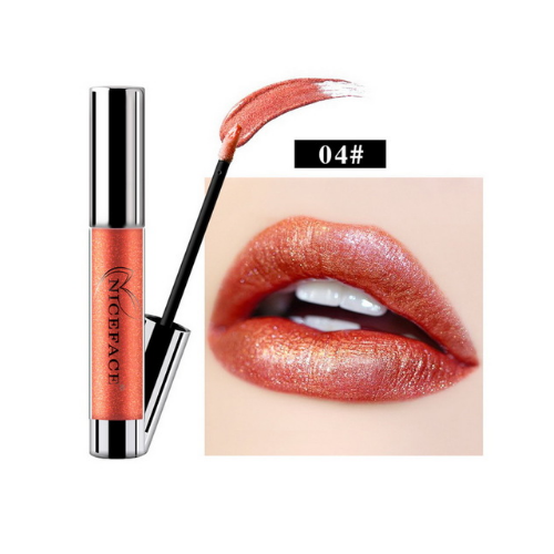 NC Metal Color Durable Waterproof Masonry Lip gloss