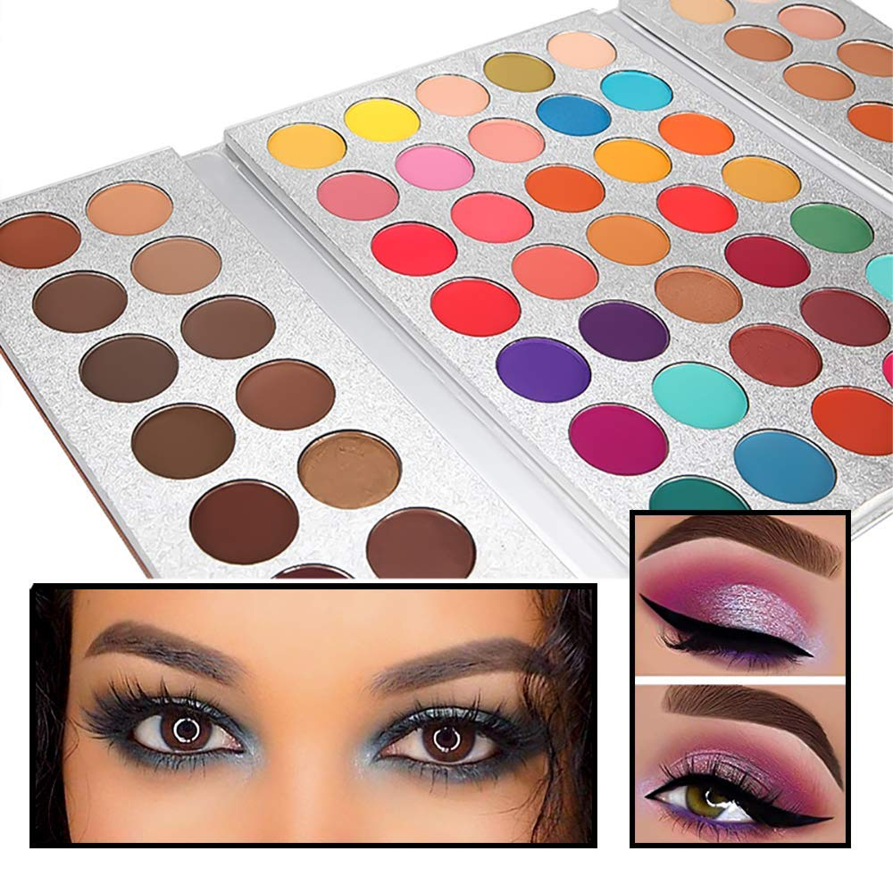 Beauty Glazed 63 Colors Eyeshadow