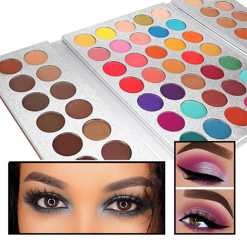 Image of Beauty Glazed 63 Colors Eyeshadow