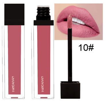 HD shiny and matte waterproof lip gloss