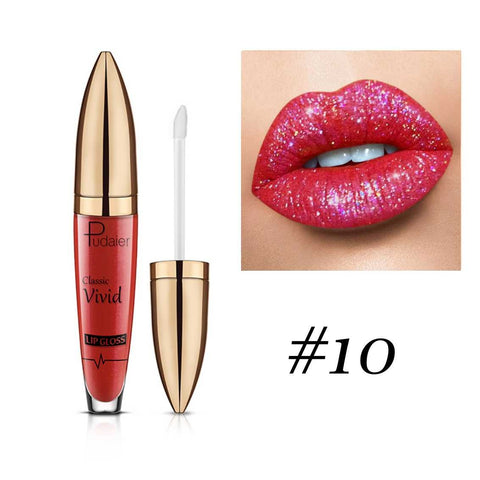 PU Shiny Waterproof Lip Gloss