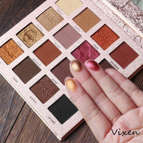 16 Color Metallic & Matte Eye Shadow Make Up Palette