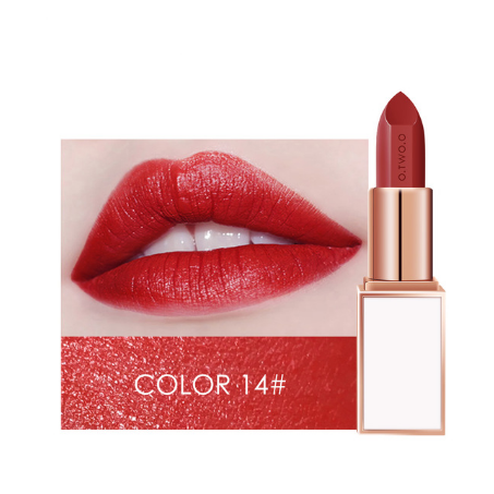 O.TWO.O -Glossy, Moisturizing And Long-Lasting Lipstick
