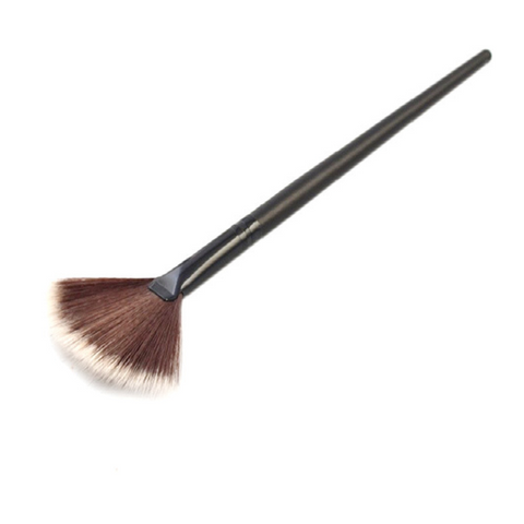 Image of Fan Shape Powder Concealer Blending Brush Foundation Cosmetic Brush