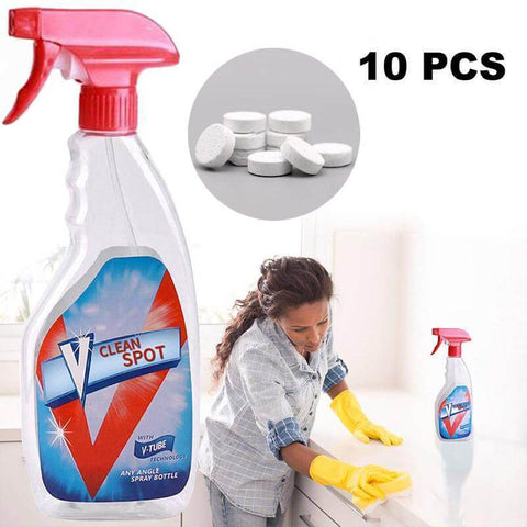 Image of Multifunctional Effervescent Spray Cleaner Set