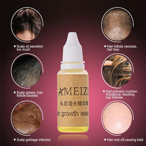 Image of Women's Natural Hair Growth Solution with Essential Oil