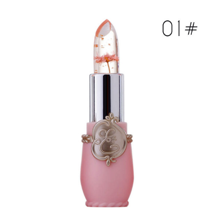 Image of Color-changing jelly 6 color lipstick