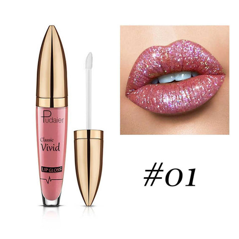 Image of PU Shiny Waterproof Lip Gloss