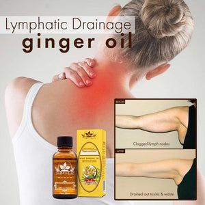 100% natural Lymphatic Drainage Ginger Oil