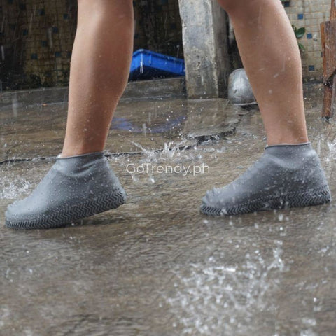 Image of Silicovers™ - Reusable Waterproof Silicone Shoe Cover (Protect shoes from rain, flood, mud, water, dirt)