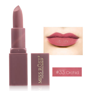MISS ROSE  12 Colors Waterproof lipstick