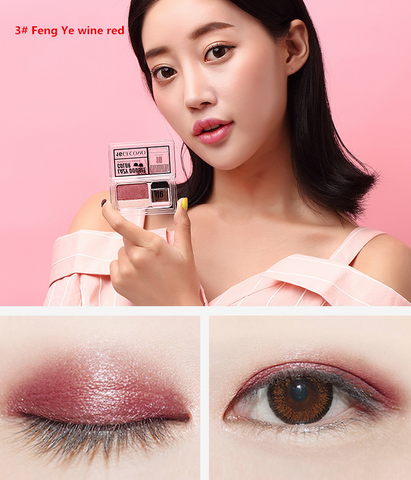 Korean 16-year-old double-color eye shadow