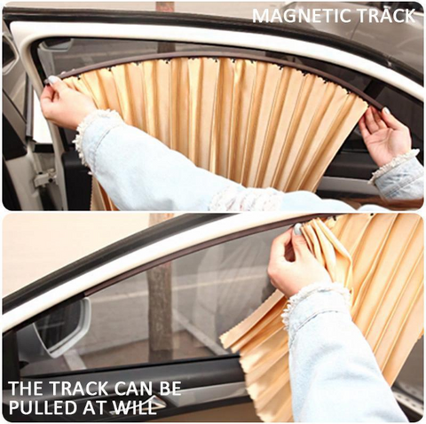 Image of Car Magnetic Sunshade