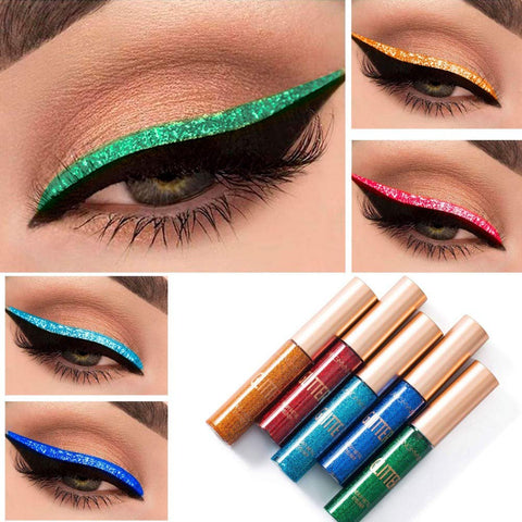Image of ARTIFUN 10 Color Glitter Eyeliner Liquid