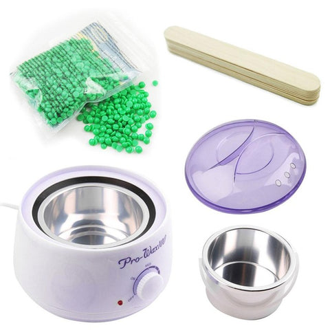 Image of Wax Warmer Hair Removal Kit 100g