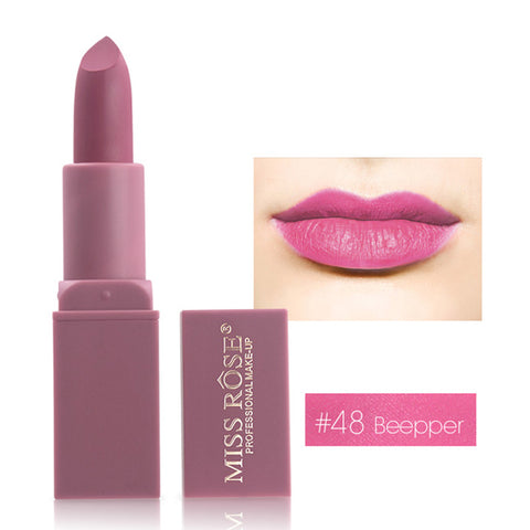 Image of MISS ROSE  12 Colors Waterproof lipstick