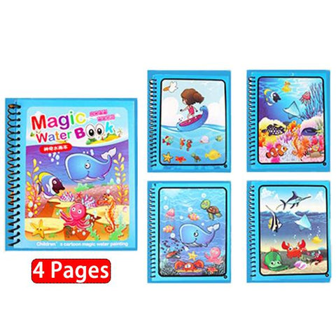 Image of Magic Rainbow Coloring Book