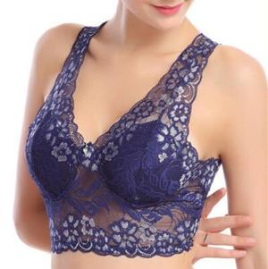 Image of 🎈Wirefree Romance Lace Bra🎈