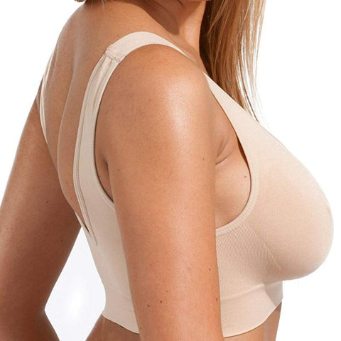 Image of *2019 Hot Selling TV Products* Comfortable Seamless Wireless Bra Sale (3pcs/set)