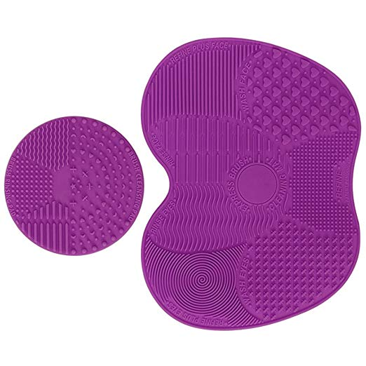 Makeup Brush Cleaning Mat Set