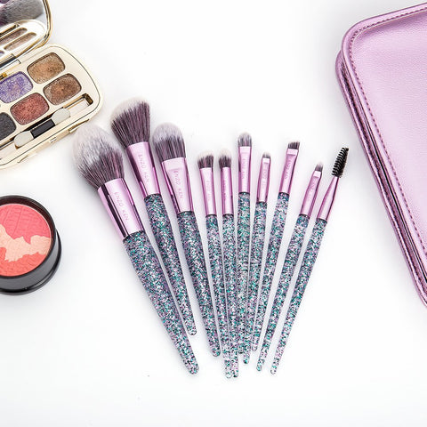 Image of 10 Pcs Makeup Brush Sets