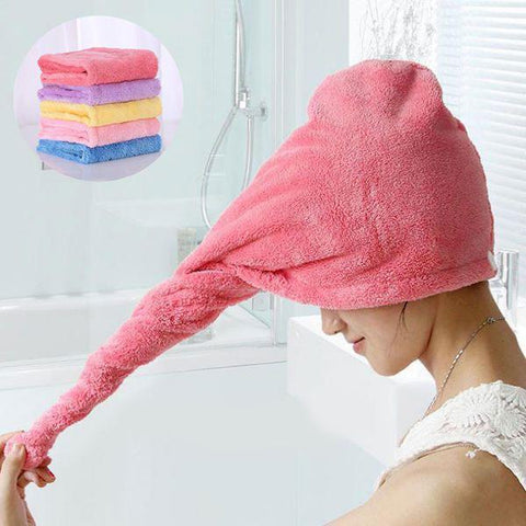 Image of Superb Absorbent Hair Towel