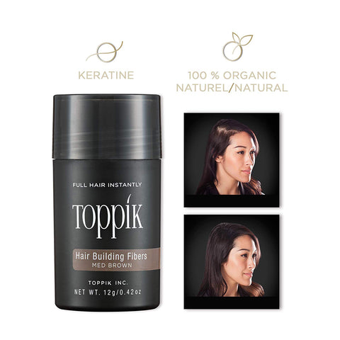 100% Original TOPPIK Hair fiber